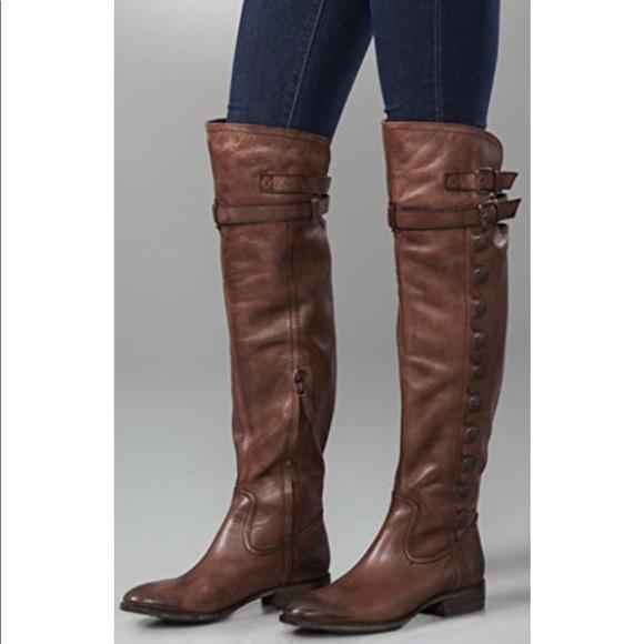 098d5fadc611f Sam Edelman Pierce Whiskey over the knee boots. M 5b47f4dc3e0caa7b8db9ef51